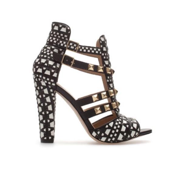 Zara Tribal Heels